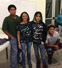 Jermiah Jackson, Nery Salazar, Wathan Perez and Jasiah Jackson.