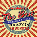 3rd Annual absolutely! The Best Reader's Choice of Brazos' Favorites